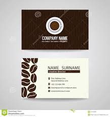 Coffee Cup Design by Business Card Vector Graphic Design Coffee Cup And Coffee Beans