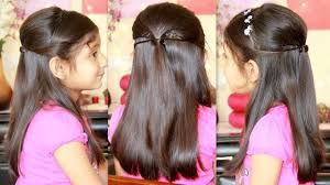 party hairstyle with