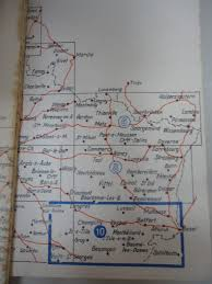 Nancy France Map by General Staff Map Book For Invasion Of France 1940