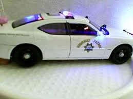 toy police cars with working lights and sirens for sale chp diecast model police car with working lights and siren youtube