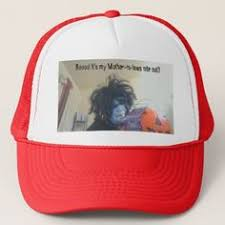 grinning black cat trucker hat halloween hats party ideas