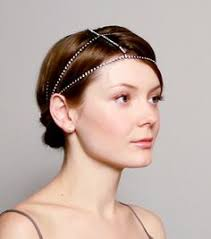 colette malouf embroidered feather headband silver by colette malouf at neiman