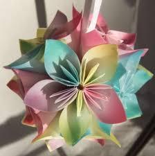 pastel origami ornament aftcra
