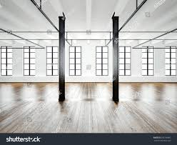 photo open space interior modern loft stock illustration 390756892