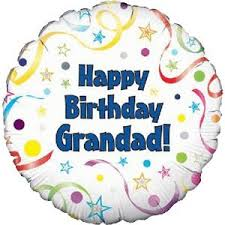 inflated balloon delivery happy birthday grandad balloon delivered inflated in a box with