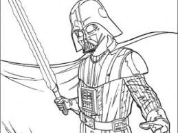 Darth Vader Coloring Pages Darth Vader With Lightsaber Coloring Darth Vader Coloring Pages