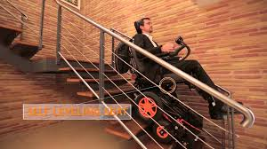 the stair climbing wheelchair topchair s youtube