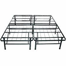Platform Metal Bed Frame Sleep Master 8 Inch Tight Top Pocketed Spring Mattress And