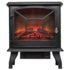 Black Electric Fireplace Akdy Fp0081 20 Freestanding Portable Black Electric Fireplace 3d