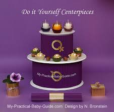 candle centerpieces my practical baby shower guide