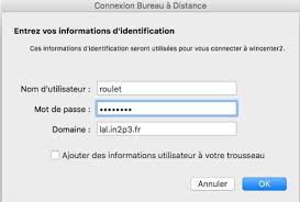 connection bureau a distance mac connexion bureau a distance mac support exploitation