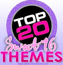sweet 16 party themes top 20 sweet 16 party themes sweet 16 party store
