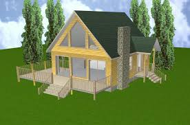 cabin plans with basement 24x28 cabin w loft plans package blueprints material list