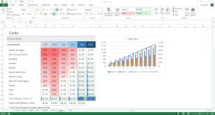 Free Microsoft Excel Spreadsheet Download Business Plan Template Ms Word For Startup And Small Businesses