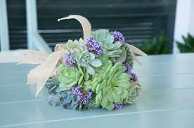 How To Make A Bridal Bouquet How To Make A Succulent Wedding Bouquet