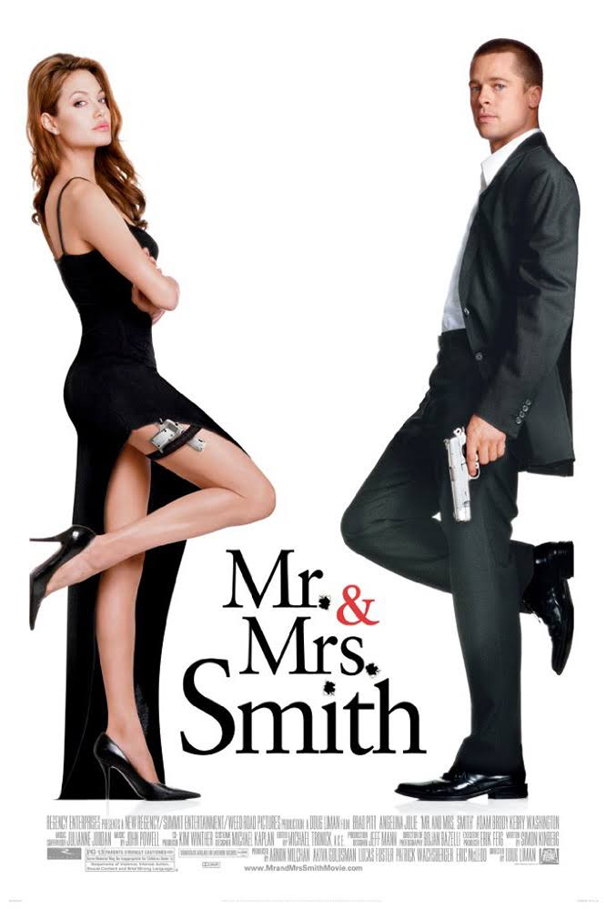 Mr & Mrs Smith (2005) Directors Cut BluRay 480p 390MB ( Hindi – English ) MKV