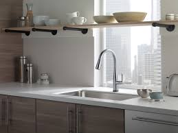 Delta Hands Free Kitchen Faucet Essa Kitchen Collection