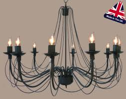 Wrought Iron Ceiling Lights Camelot Italian Style Wrought Iron 12 Light Chandelier 813 12