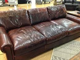 Knock Off Modern Furniture by Living Room Restoration Hardware Cambridge Leather Left Arm Sofa
