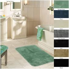 Navy And White Bath Rug Blue Bathroom Rug Sets Best Bathroom Decoration