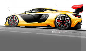 renault sports car renault sport r s 01 gestation detailed