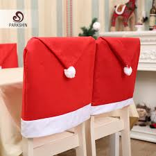 santa hat chair covers parkshin christmas hat chair covers christmas decorations