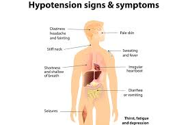 headache light headed tired low blood pressure hypotension signs and symptoms ausmed