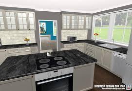 glancing interior design clean 3d room drawing ipad decorating