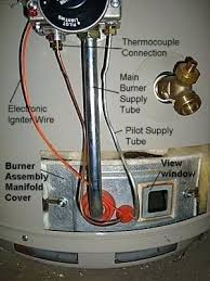 gas water heater pilot light but not burner water heater pilot light gas water heater pilot light keeps going