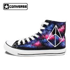 Converse High Heels Aliexpress Com Buy Original Converse Chuck Taylor Galaxy Shoes