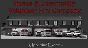 reese u0026 community volunteer fire compmany carroll county maryland