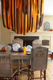 Paper Chair Covers Crepe Paper Halloween Back To Basics Chair Covers Vintage