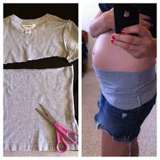 belly bands easy diy maternity belly bands cut top of a form fitting