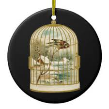 bird cage ornaments keepsake ornaments zazzle