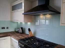 kitchen glass splashback ideas made to measure coloured glass splashbacks