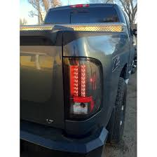 2009 2010 Chevy Silverado Euro Style Led Tail Lights Small Reverse