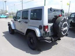 jeep sahara silver 2017 new jeep wrangler unlimited winter 4x4 at landers chrysler