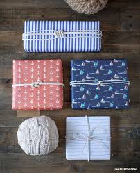 christmas wrapping paper sets nautical wrapping paper set lia griffith