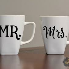His And Hers Wedding Gifts Best His And Her Coffee Mug Sets Products On Wanelo
