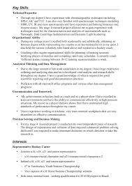Chemist Resume Samples by 28 Curriculum Vitae Chemistry Displaying The Hits O Cv