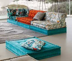 mah jong sofa roche bobois mah jong sofa in jean paul gaultier designed upholstery