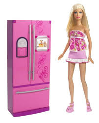 Barbie Doll Refrigerator