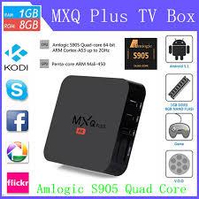 kodi xbmc android mxq pro s905 smart tv box android 5 1 1gb 8gb kodi xbmc uk