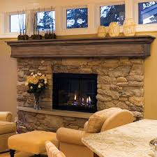 great french country fireplace design with white painted wooden