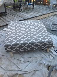 ottoman coffee table from a wood pallet flippin u0027 fabulous finds