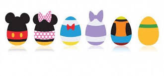 Mickey Mouse Easter Eggs Minnie Mouse Mickey Mouse Duck Donald Duck Pluto Goofy