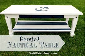 painted nautical table find it make it love it