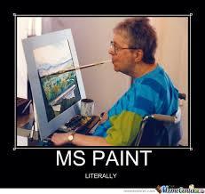 Ms Memes - ms paint by ben meme center