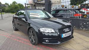 used audi a3 black edition 1 8 cars for sale motors co uk