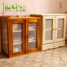 Food Storage Cabinet Foreign Wood Cupboard Cupboard Simple Fruit Dish Cabinet Kitchen